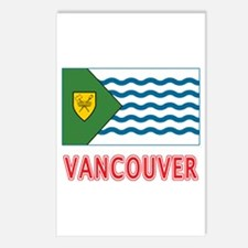 Vancouver BC Flag Postcards (Package of 8)