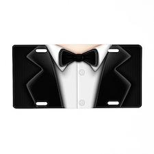 Tuxedo Aluminum License Plate
