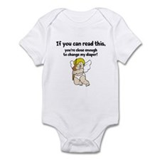 If You Can Read This....infant Body Suit