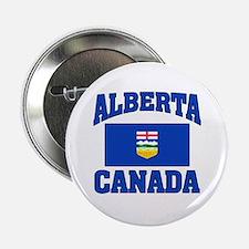 "Alberta Canada Flag 2.25"" Button"