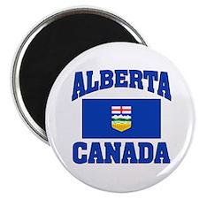 "Alberta Canada Flag 2.25"" Magnet (10 pack)"