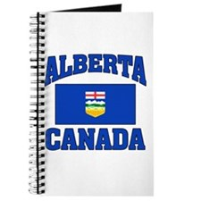 Alberta Canada Flag Journal