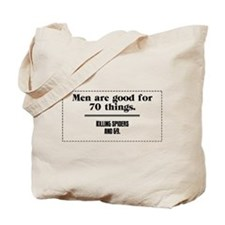 men are good for Tote Bag