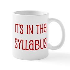 syllabus Mug