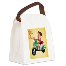 Bella Vita Canvas Lunch Bag