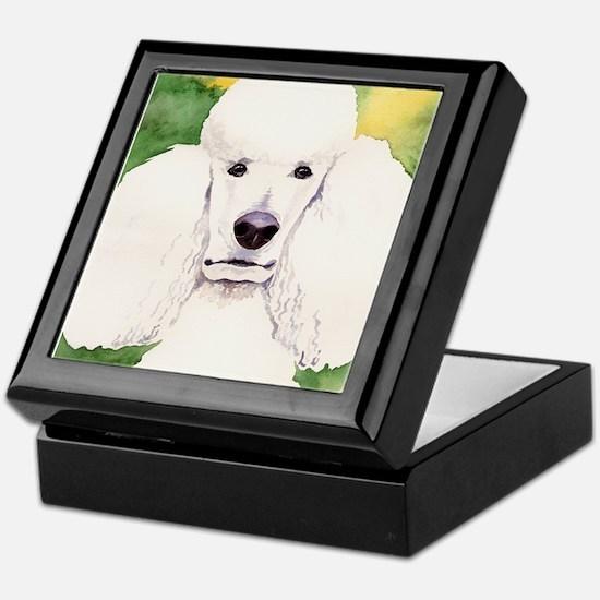 Standard Poodle! Keepsake Box