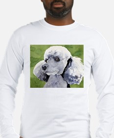 Silver poodle stuff! Long Sleeve T-Shirt