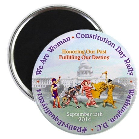 "Commemorative 2 2.25"" Magnet (100 pack)"