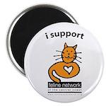 Feline Network Logo - Magnet