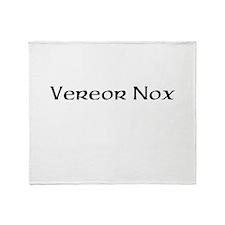 Vereor Nox Throw Blanket