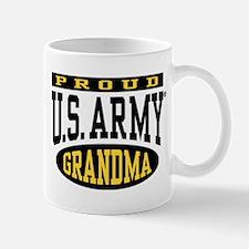 Proud U.S. Army Grandma Mug