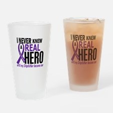 Cystic Fibrosis Real Hero 2 Drinking Glass