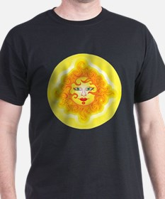 Abstract Sun T-Shirt