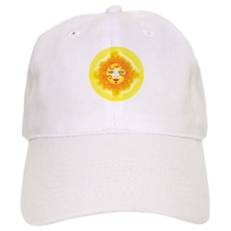 Abstract Sun Cap