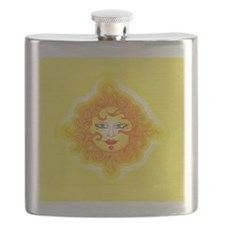 Abstract Sun Flask