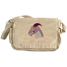 Dragons are Agender Messenger Bag