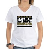 Army grandma Womens V-Neck T-shirts