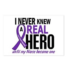 Cystic Fibrosis Real Hero Postcards (Package of 8)