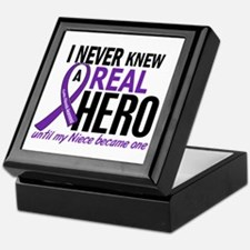 Cystic Fibrosis Real Hero 2 Keepsake Box