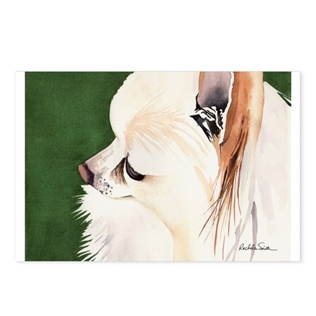 White Pomeranian Postcards (Package of 8)