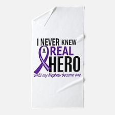 Cystic Fibrosis Real Hero 2 Beach Towel