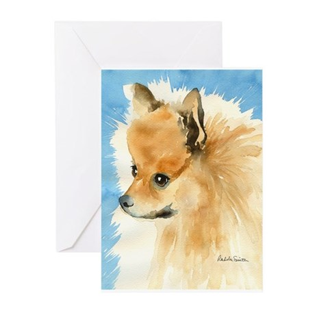 Pomeranian Stuff! Greeting Cards (Pk of 10)