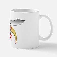 Shrine Scimitar and Claws Mug