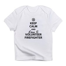 Keep Calm and Love A Volunteer Firefighter Infant