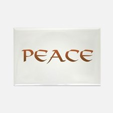 Peace 2 Rectangle Magnet (10 pack)