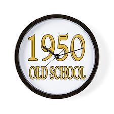 1950 Old School Wall Clock