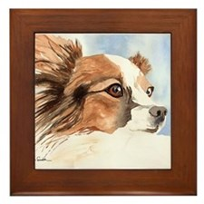 Papillon Gifts! Framed Tile