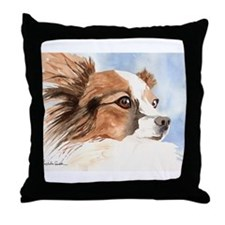 Papillon Gifts! Throw Pillow