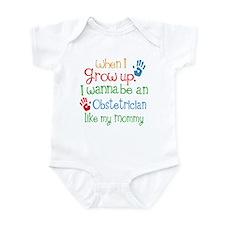 Obstetrician Like Mommy Infant Bodysuit