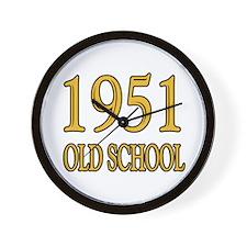 1951 Old School Wall Clock