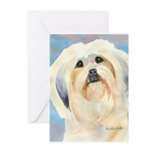 Lhasa Apso Stuff! Greeting Cards (Pk of 10)