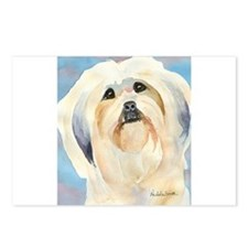 Lhasa Apso Stuff! Postcards (Package of 8)