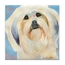 Lhasa Apso Stuff! Tile Coaster