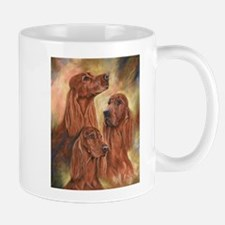 Three Irish Setters by Dawn Secord Mugs