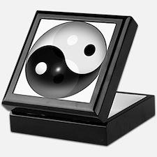 Yin Yang in 3D Keepsake Box