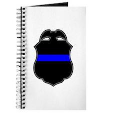 Blue Line Badge 3 Journal