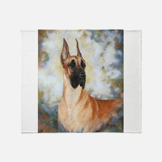 Great_Dane.JPG Throw Blanket