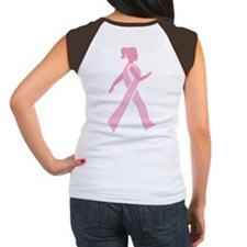 Breast Cancer Walks Women's Cap Sleeve T-Shirt