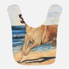 Lab on Beach Bib