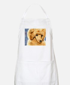 Red Poodle Stuff BBQ Apron