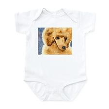 Red Poodle Stuff Infant Bodysuit