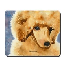Red Poodle Stuff Mousepad