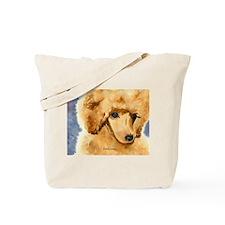 Red Poodle Stuff Tote Bag