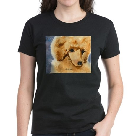 Red Poodle Stuff Women's Dark T-Shirt
