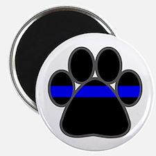 Blue Line K9 Paw Magnet