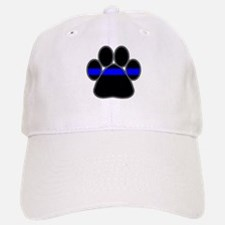 Blue Line K9 Paw Baseball Baseball Cap